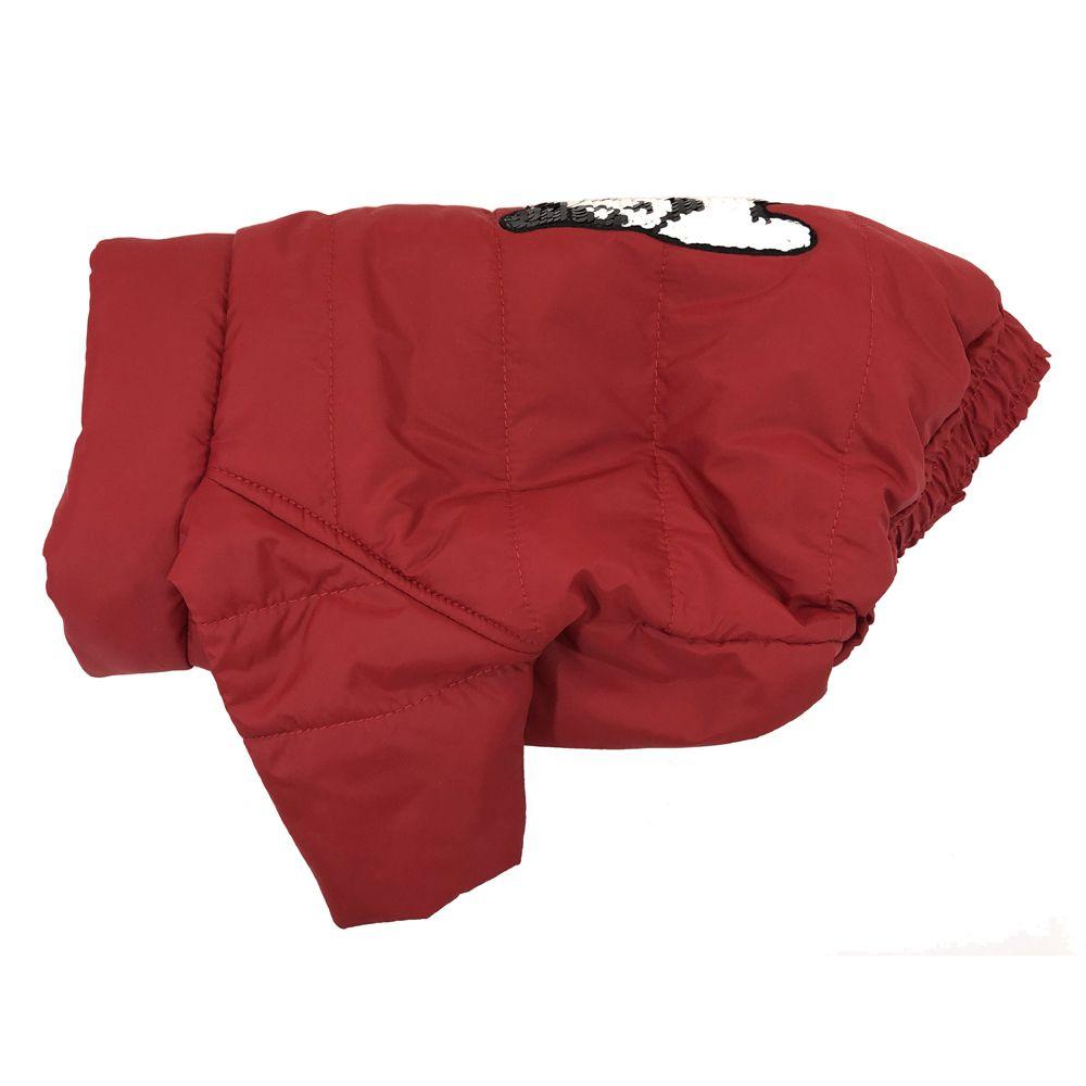 Куртка для собак ДОГ МАСТЕР стеганая с декором M 26 см свитер для собак дог мастер поло размер m 26 см