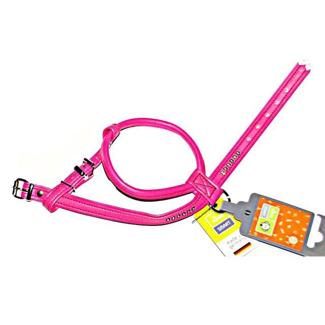 Шлейка для собак HUNTER Smart Modern Art R&S Luxus 40/11 (27/32-38см) кожзам розовый