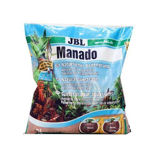 Питательный грунт JBL Manado 10l улучшающий качество воды и стимулирующий рост растений, 10л
