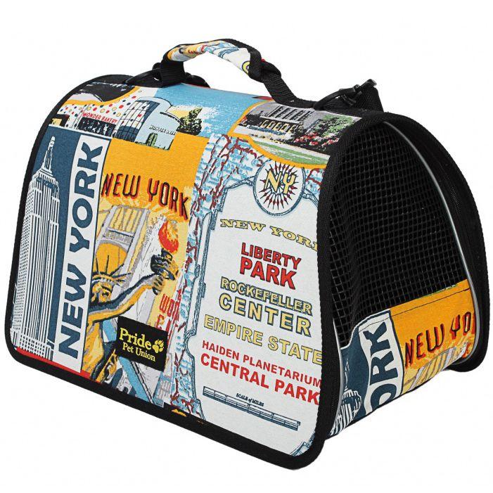 Сумка для животных Нью Йорк Pride 37х22х21см сумка для животных кантри pride 37х 22 х 21см