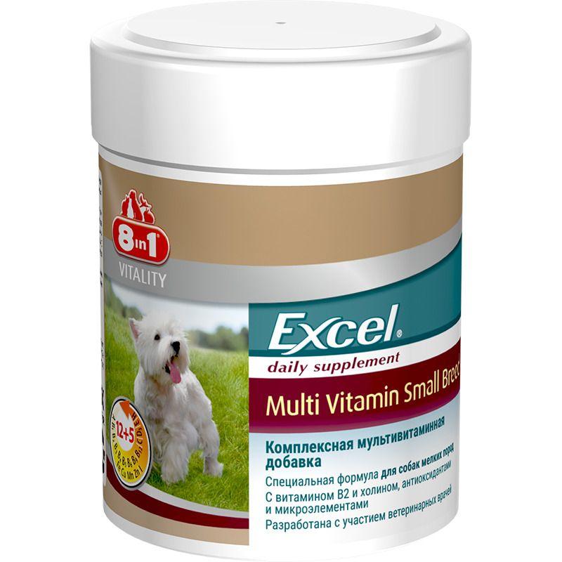 Мультивитамины 8 in 1 Excel для собак мелких пород 70таб. недорого
