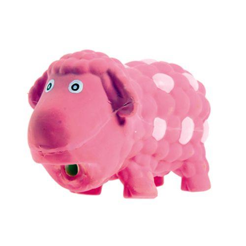 Игрушка для собак Lilli Pet Овечка Салли с пищалкой 18см