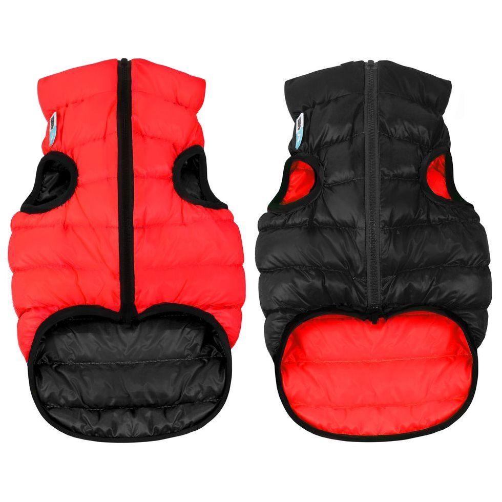 цена Курточка двухсторонняя AiryVest размер М 47см красно-черная онлайн в 2017 году