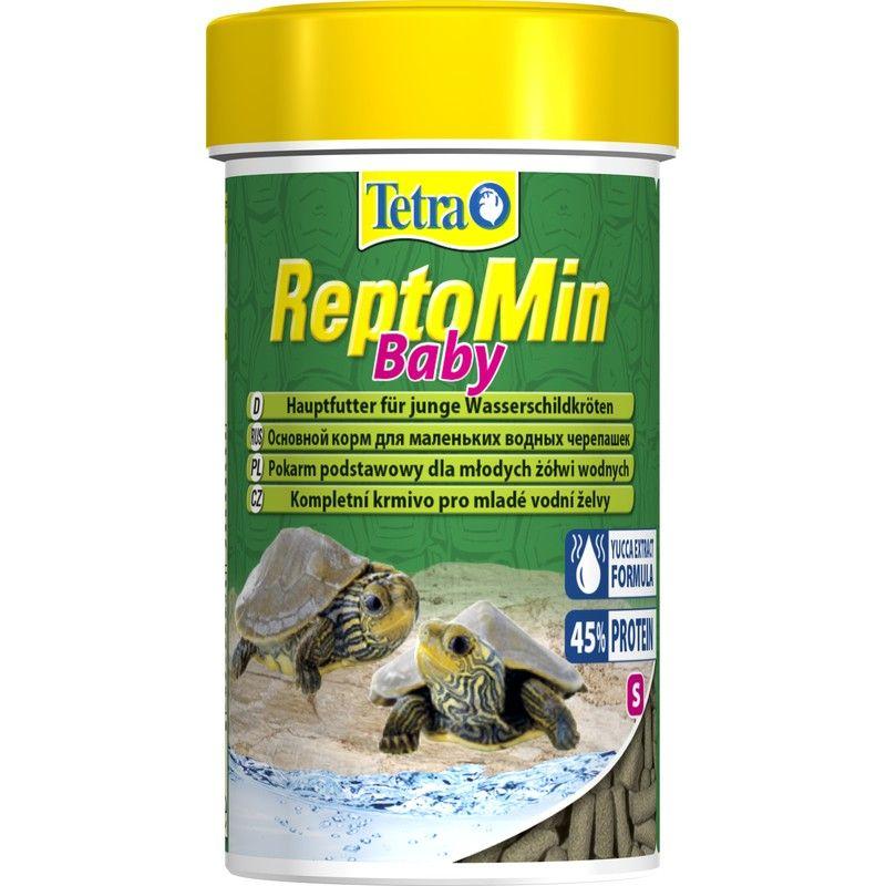 Корм для черепах TETRA ReptoMin baby для молоди водных черепах 100мл