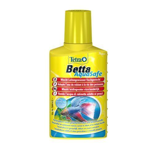 Кондиционер для воды TETRA Betta AquaSafe для подготовки воды аквариума 100мл кондиционер для воды tetra betta aquasafe для подготовки воды аквариума 100мл