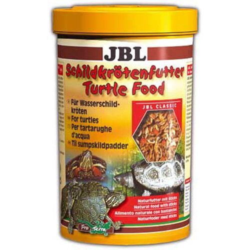 Корм для черепах JBL Schildkr?tenfutter Основной корм для черепах 1000мл (120г) корм зоолюкс