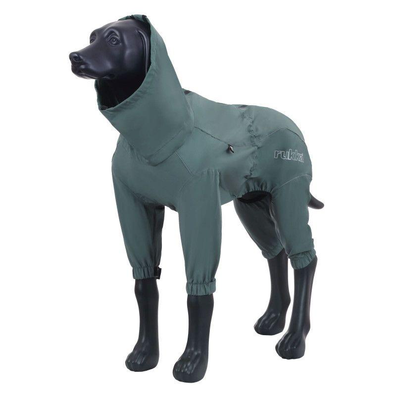 Комбинезон для собак RUKKA PROTECT OVERALL 55см оливковый