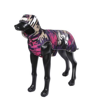 Куртка для собак RUKKA зимняя 45см Розовый пестрый