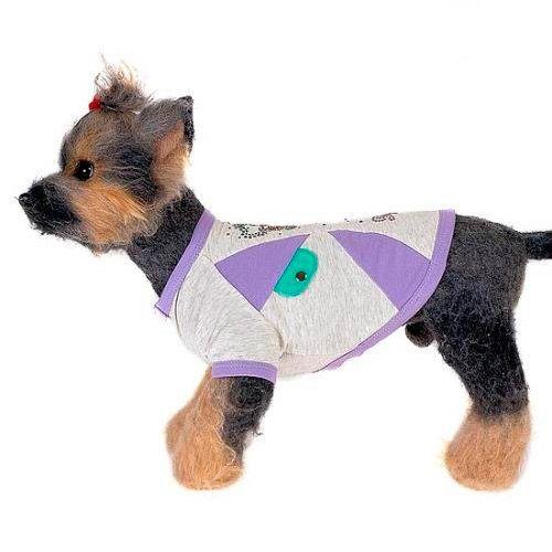 цена на Майка для собак HAPPY PUPPY Веселый щенок размер 4