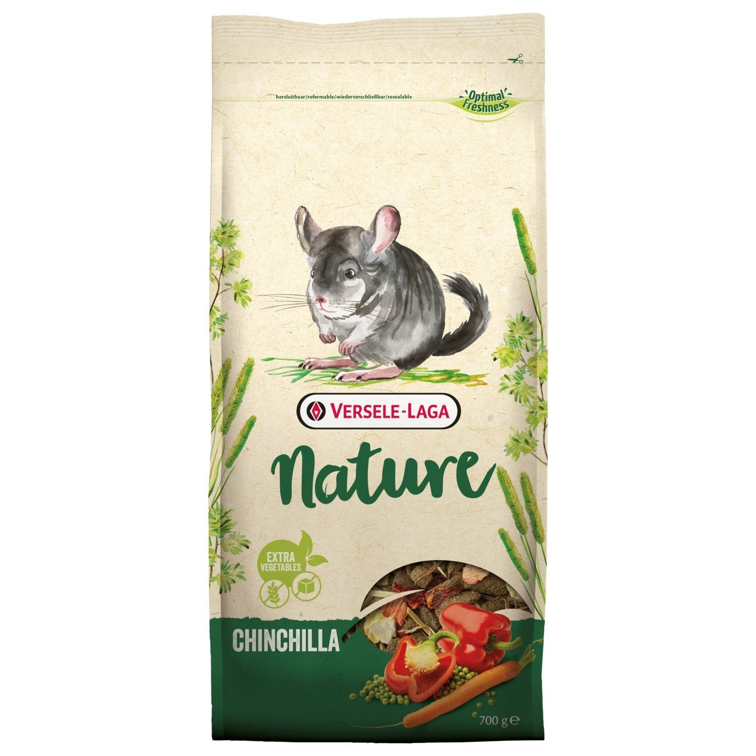Корм для шиншилл VERSELE-LAGA Nature Chinchilla 700 г NEW