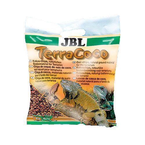 Субстрат для террариумов JBL TerraCoco Кокосовая стружка, натуральный донный 5л буковая щепа jbl terrawood для сухих и полусухих террариумов 20 л