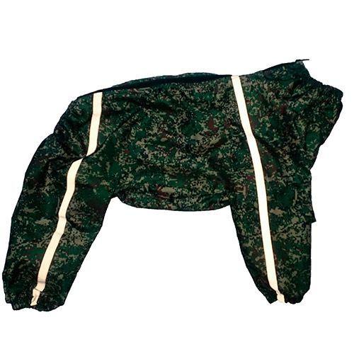Комбинезон-плащ для собак ДОГ МАСТЕР для средних пород размер 50-55см комбинезон плащ для собак дог мастер на подкладке с отделкой размер xxxl 38 см