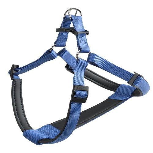 Шлейка для собак FERPLAST DAYTONA P Extra Large нейлон, синяя шторка для будки ferplast domus large