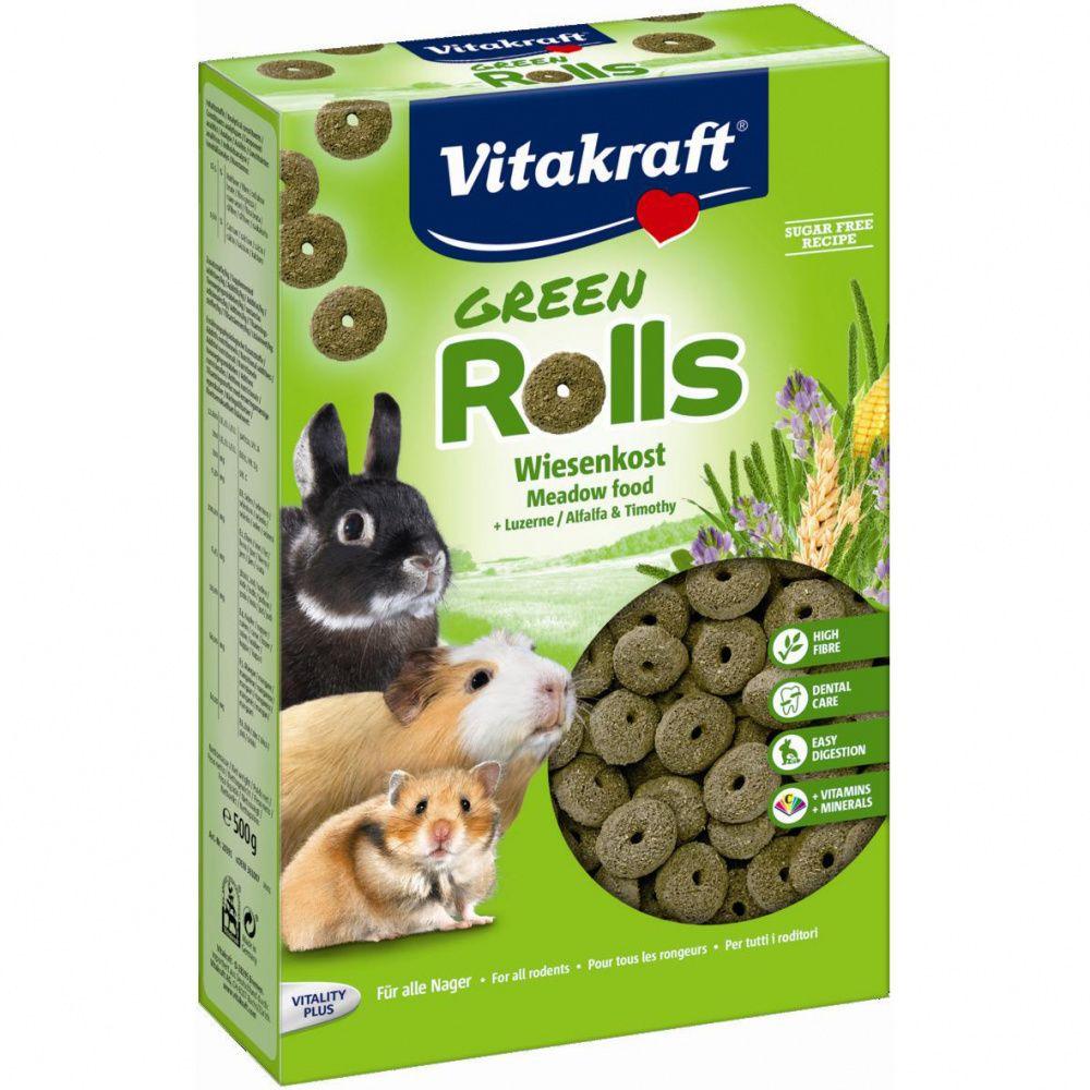 Фото - Корм для грызунов VITAKRAFT ROLLINIS для грызунов универсальный сух. 500г корм для грызунов vitakraft для дегу сух 600г