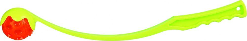 Игрушка для собак TRIXIE Катапульта со светящимся мячиком 50см