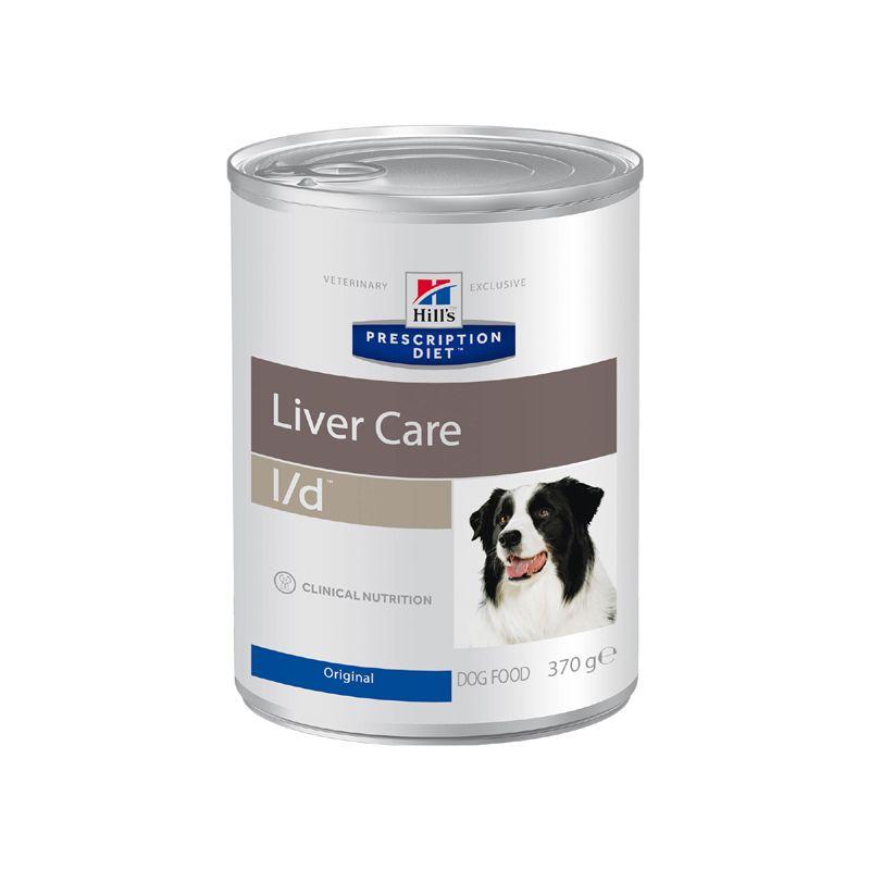Фото - Корм для собак Hill's Prescription Diet Canine L/D при заболеваниях печени, курица конс. 370г корм для собак hill s prescription diet canine z d ultra при пищевой аллергии конс 370г