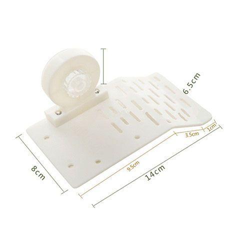 Плотик для черепах МЕЙДЖИНГ АКВАРИУМ пластиковый на присоске, 14х8см цена