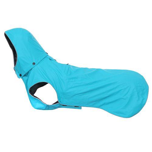 Дождевик для собак RUKKA 60 см Бирюзовый