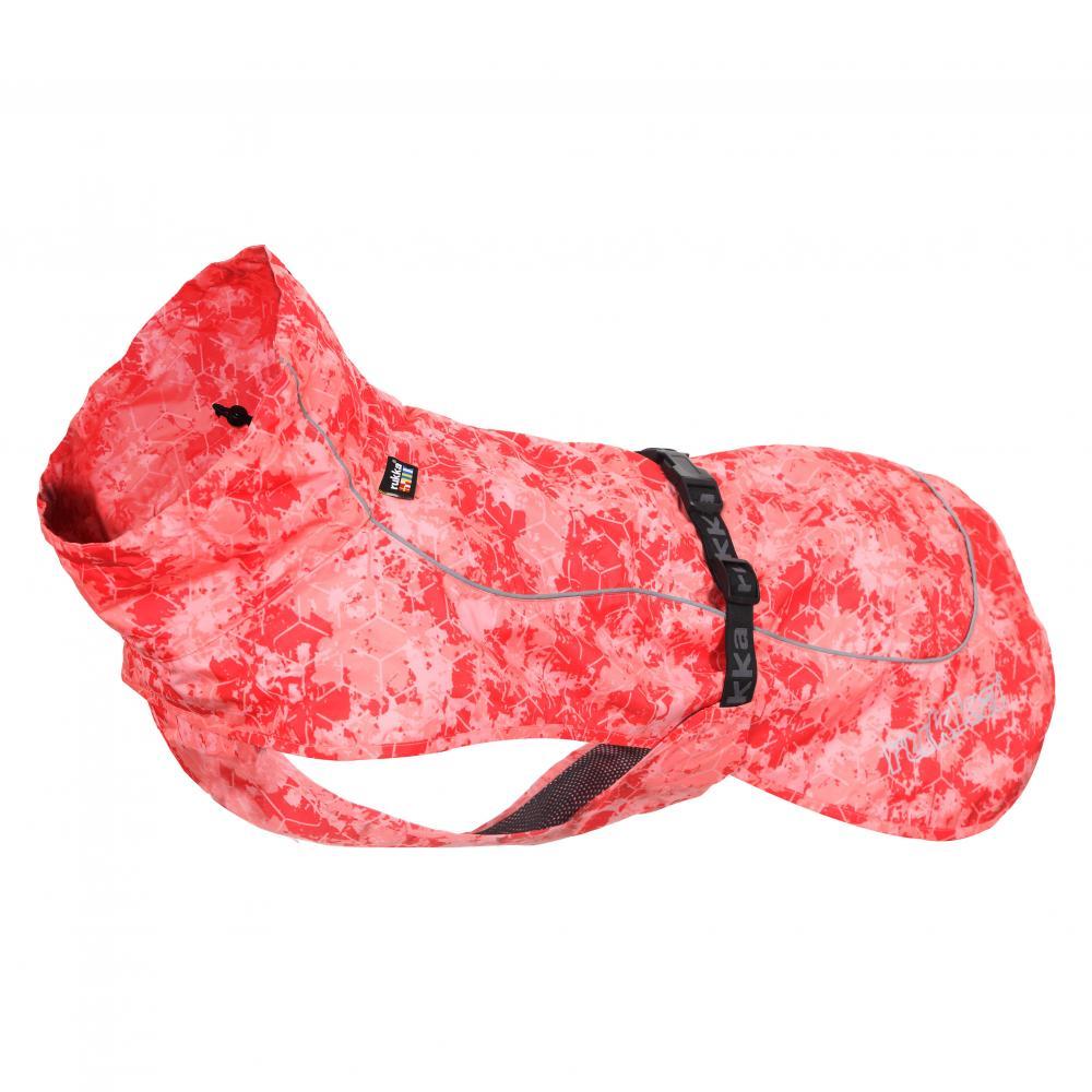 Дождевик для собак RUKKA Drizzle 60см красный