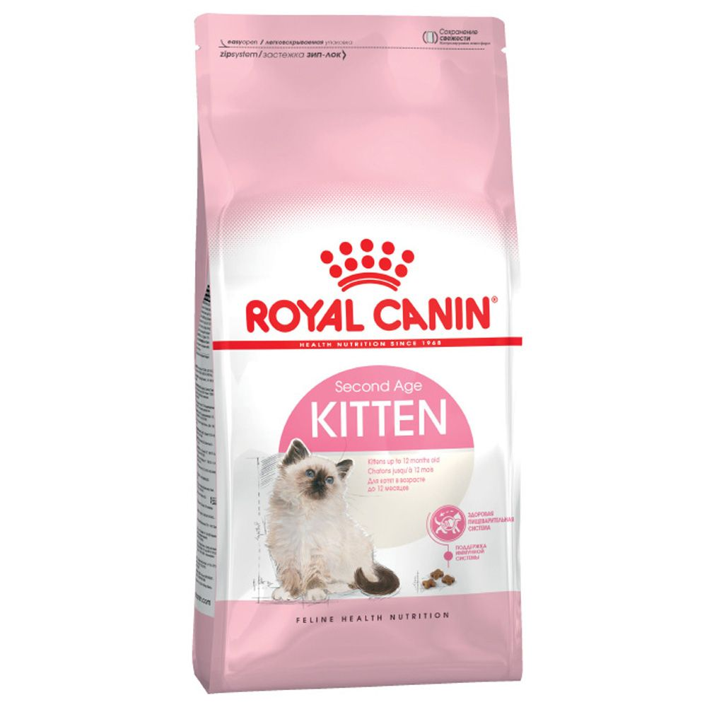 Корм для котят ROYAL CANIN Kitten 36 от 4 до 12 месяцев сух. 2кг