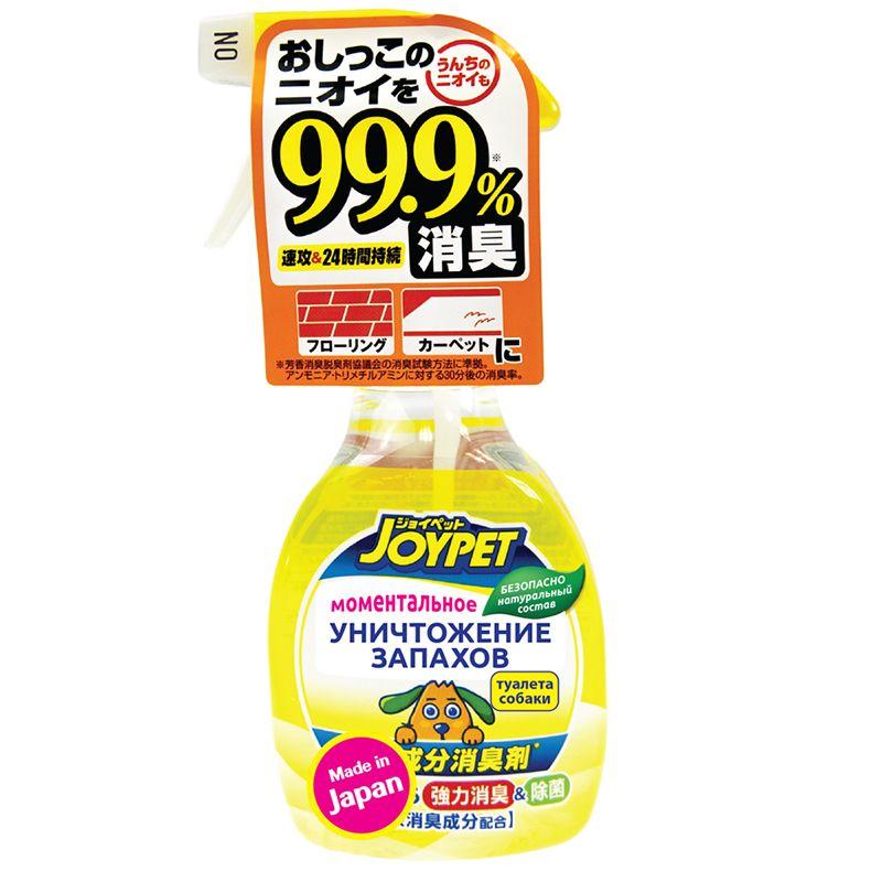 Спрей для собак Japan Premium Pet уничтожитель сильных запахов туалета 270мл