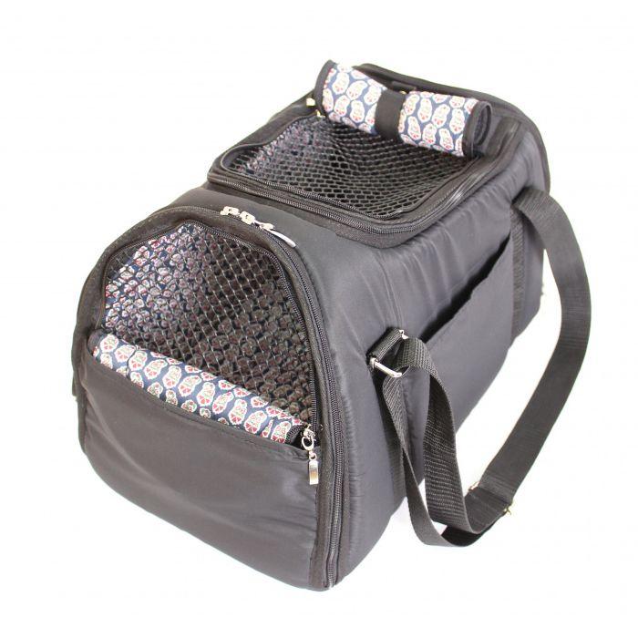 Сумка-переноска для животных YORIKI Спорт черная 45х27х25 см сумка переноска fun days classic чёрная 30х20х40 см