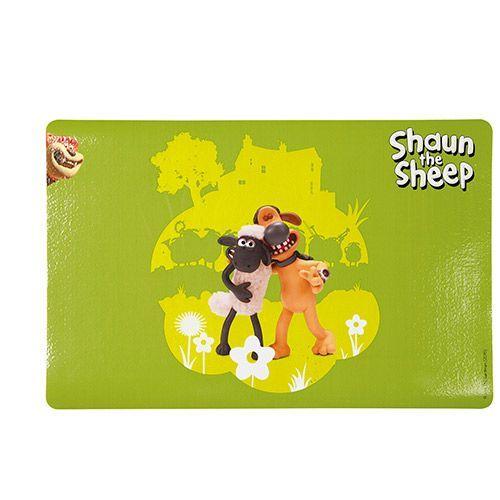 Коврик под миску TRIXIE Shaun the sheep зеленый 44х28см