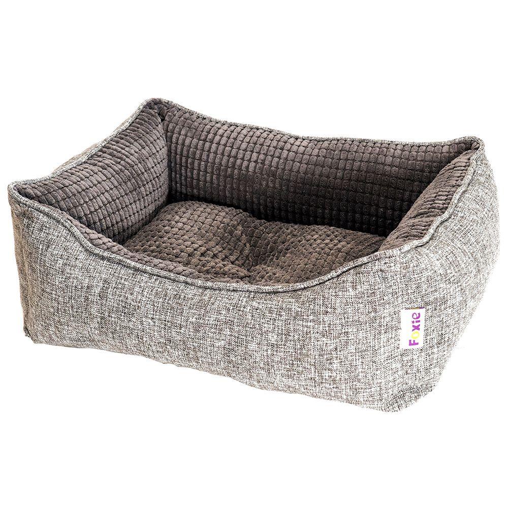 Фото - Лежак для животных Foxie Colour 70х60х23см серый лежак для животных foxie leather 70х60х23см красный