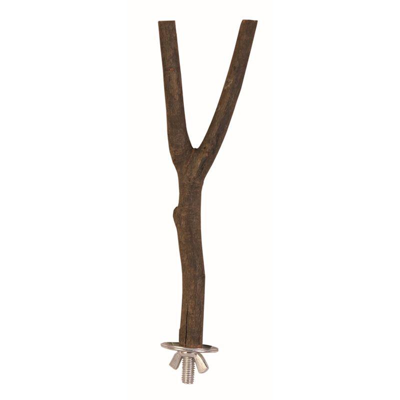 Фото - Жердочки для птиц TRIXIE 20см ф1,5см деревянная кора жердочки для птиц trixie 35см ф1 8см деревянная кора