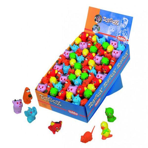 Игрушка для собак Nobby Зверюшки 5-6см