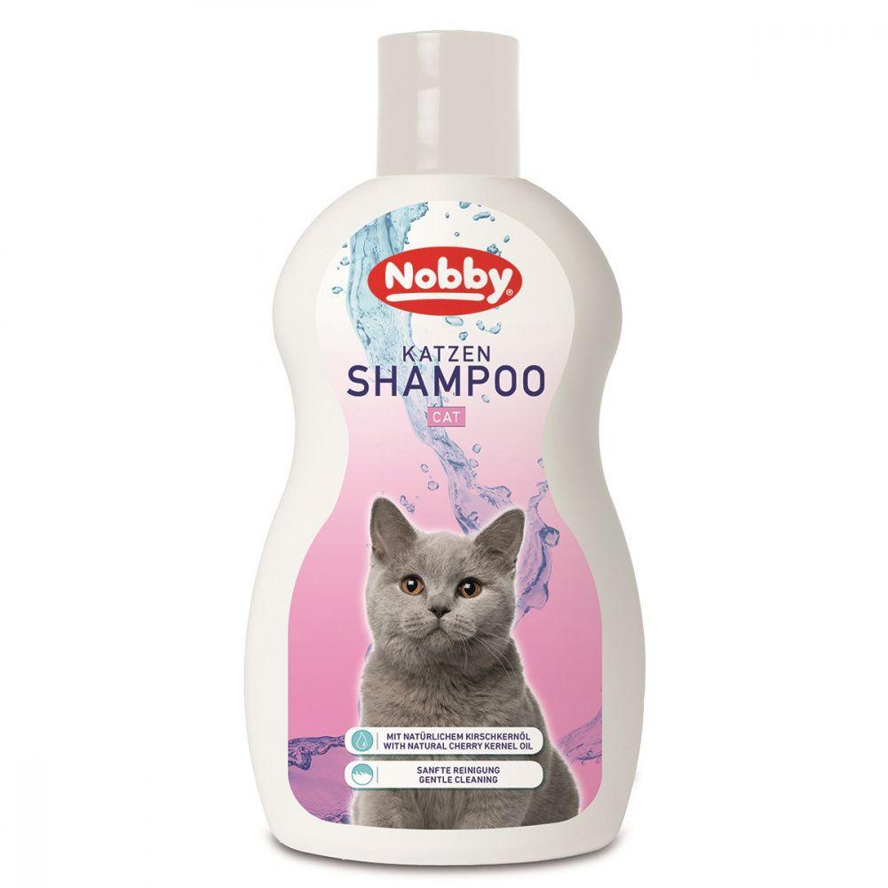 Шампунь для кошек Nobby Cat с маслом косточек вишни 300мл