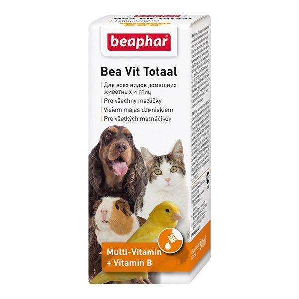 Витамины Beaphar Vit Total при линьки