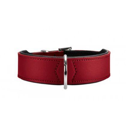 Ошейник для собак HUNTER Basic 65 кожа красный 51-58,5см цена