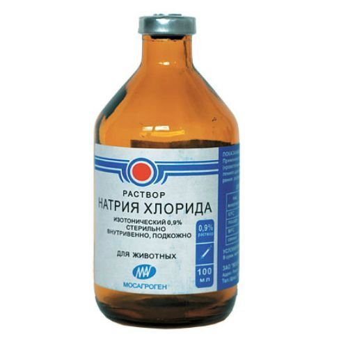 Фото - Препарат МОСАГРОГЕН Натрия хлорид 0,9% внутривенно,подкожно, р-р для инъекций 100мл препарат bayer катозал стимулирующий тонизирующий препарат для животных 100мл