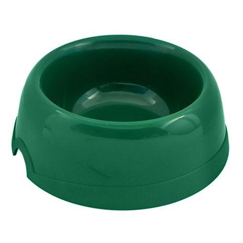 Миска для животных ХОРОШКА пластиковая зеленая 100мл