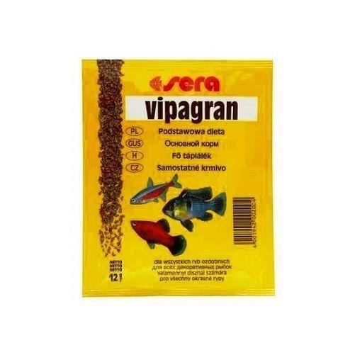 Корм для рыб SERA Vipagran 12г sera sera vipagran корм для рыб основной в гранулах 10 л