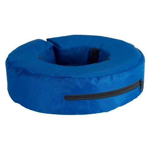 Защитный воротник для животных BUSTER KRUUSE надувной синий (Small)