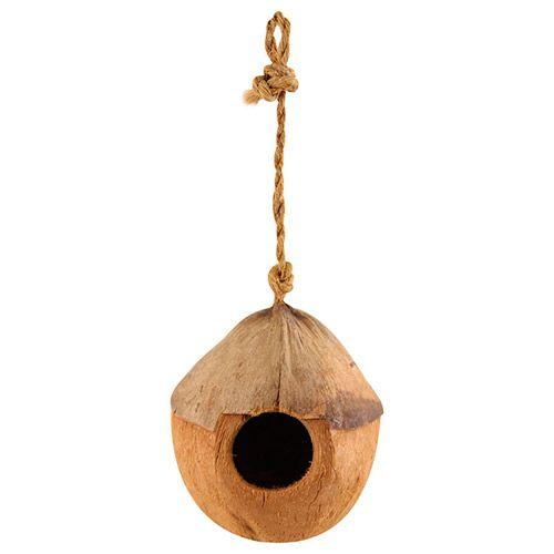 Домик для птиц TRIOL из кокоса, 100-130мм