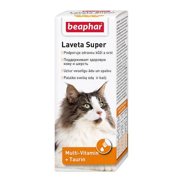 Витамины для кошек Beaphar Laveta super 50мл цены