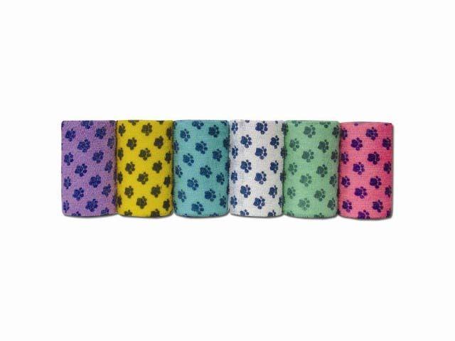 Бандаж ANDOVER PetFlex для животных с лапками мультицвет 7,5смх4,5м