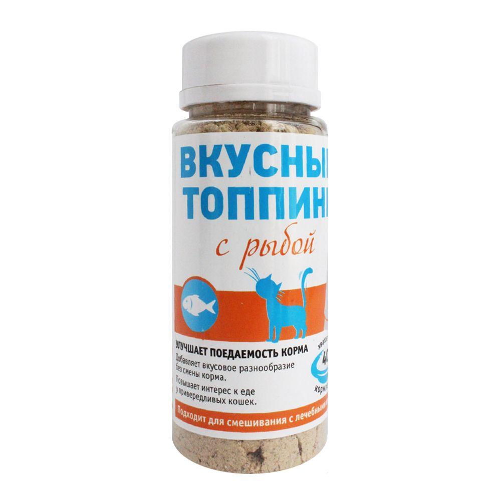 Вкусный топпинг ПРОФБАЛАНС для кошек со вкусом рыбы 60г