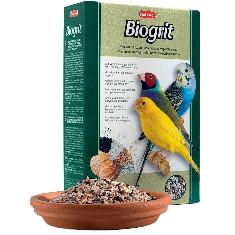Био-песок для птиц Padovan витамины минералы 700г