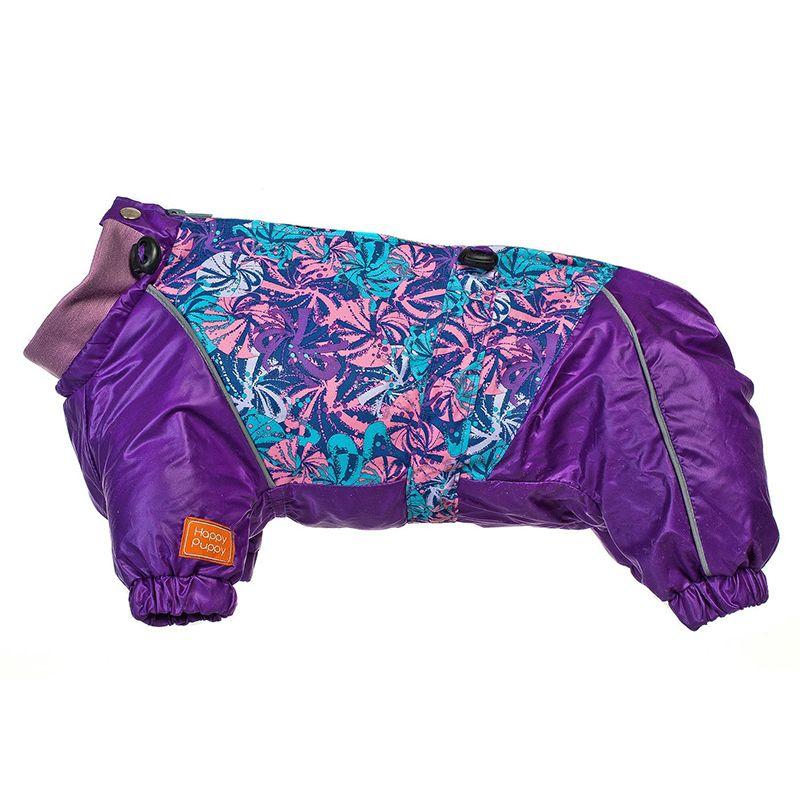 Комбинезон для собак HAPPY PUPPY французский бульдог (весна-осень) девочка, спинка 35