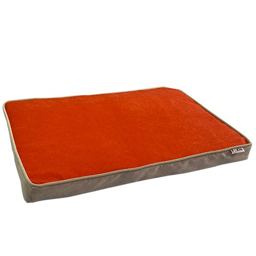 Матрас для животных Foxie Colour 100х70см прямоугольный оранжевый фото