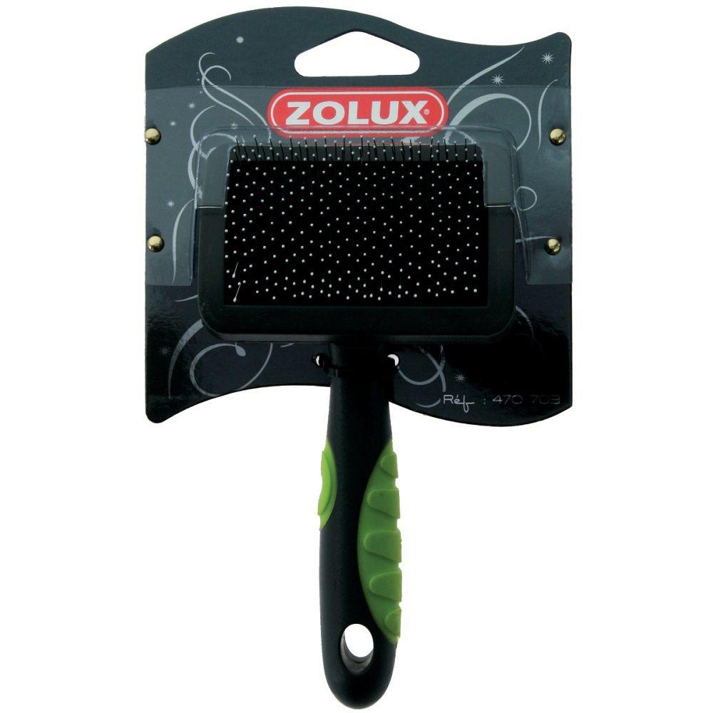 Фото - Пуходерка ZOLUX с каплей малая салат. ручка zolux щетка пуходерка zolux самоочищающаяся м