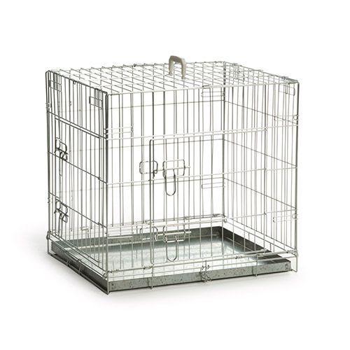 Клетка для животных Beeztees стальная 63х55х61см миска beeztees стальная с креплением для собак 300 мл