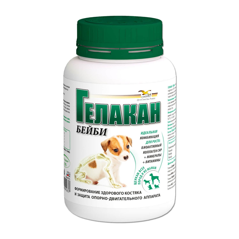 Добавка к корму для щенков Gelacan Бейби для ОДС 150г добавка к корму gelacan фаст быстрое избавление от боли и хромоты для собак всех возрастов и пород 150г
