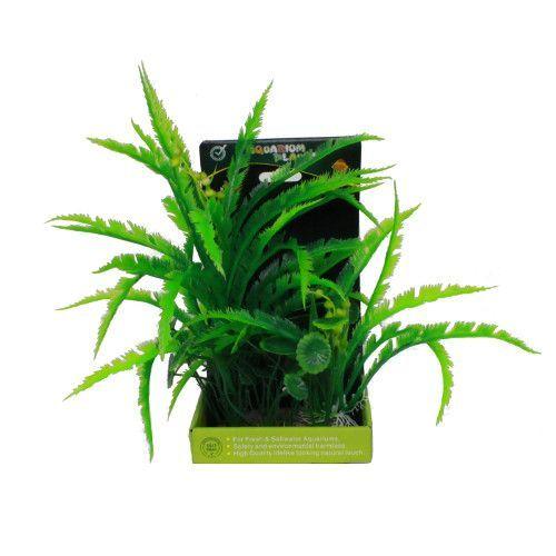 Искусственное растение МЕЙДЖИНГ АКВАРИУМ 22см, в картонной коробке №16