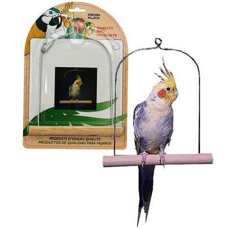 Качели для птиц PENN-PLAX 10см жердочки для птиц penn plax 36х1см 2шт уп