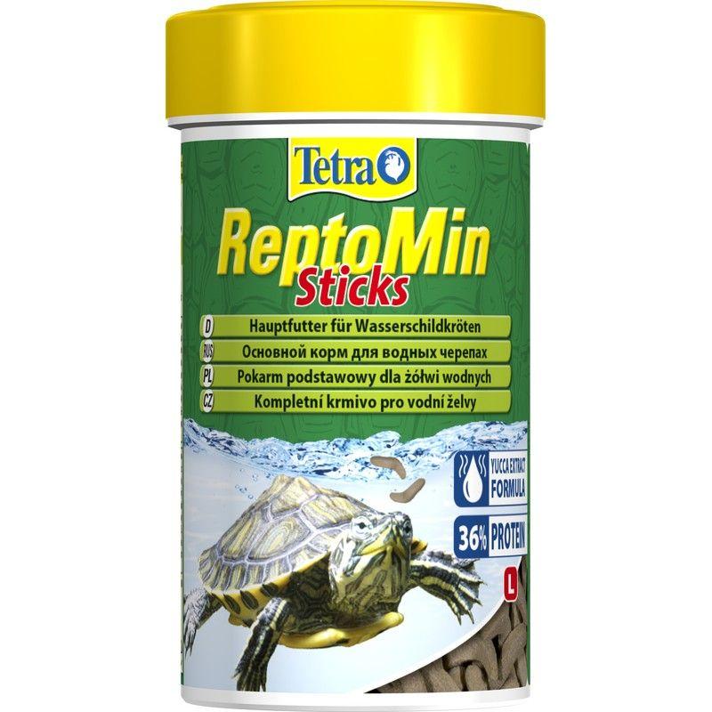 Корм для черепах TETRA ReptoMin Sticks в виде палочек для водных черепах 250мл